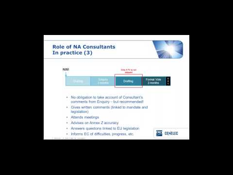 CEN and CENELEC 10-10 webinar: New Approach consultants