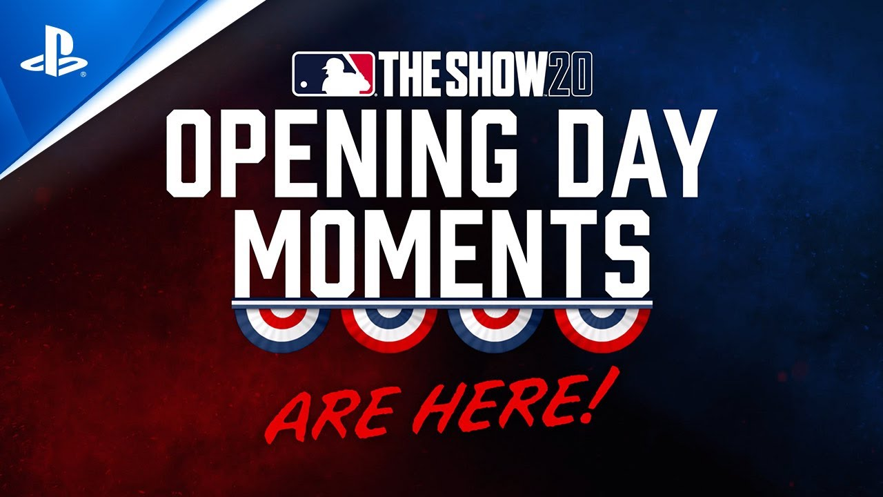 MLB The Show 20 - Opening Day Moments Are Here | PS4