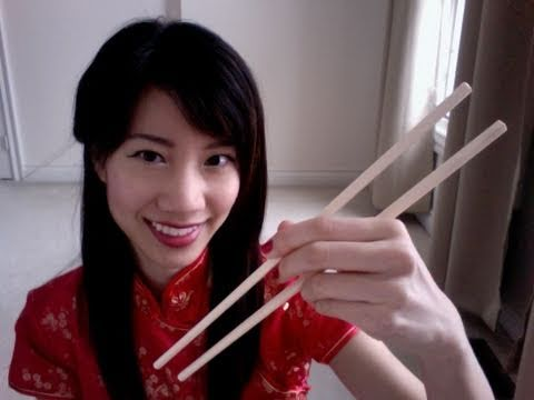 How to Hold Chopsticks (Happy Chinese/Lunar New Year!)