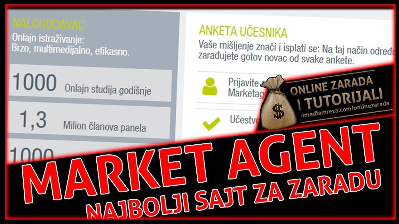 MarketAgent - Najbolji sajt za zaradu sa anketama