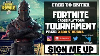 *FORTNITE TOURNAMENT* FREE V-BUCKS!!! QUARTER FINAL/SEMI-FINAL/FINALS!! VJF TOURNAMENT!!!