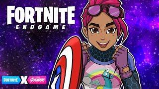 THE 1ST REVENGER! Fortnite Marvel Avengers Endgame Event