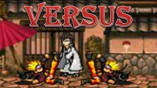 Naruto (Sage Mode) vs Sōsuke Aizen - Bleach vs Naruto 2.3