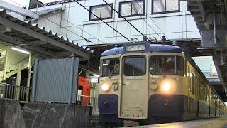 【さようならスカ色】しなの鉄道 115系S16編成 普通 妙高高原行き 長野駅発車&115系S24編成 長野駅到着