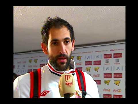 Declaraciones Diego López tras el Partido Sevilla 1-2 Real Valladolid 3/12/12 Sevilla FC