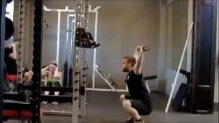 Sherwood Park Personal Trainer Shows How To Overhead Squat Properly