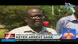 Alfred Keter expected in court Monday morning
