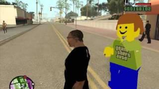 GTA SAN ANDREAS - LEGOMAN MOD