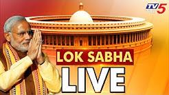 LSTV Live : LOK SABHA Live Streaming From Parliament | TV5 Kannada