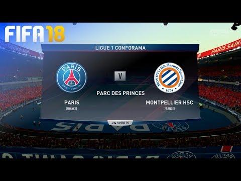 FIFA 18 - Paris Saint Germain vs. Montpellier HSC @ Parc des Princes