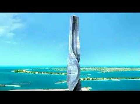 Dubai and Moscow's Moving Skyscrapers