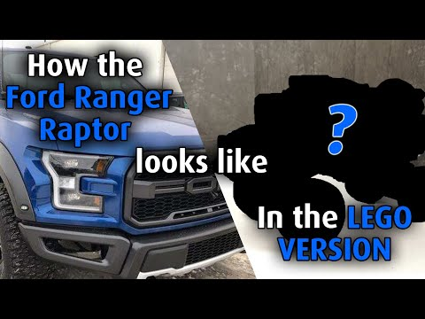 How the Ford Ranger Raptor Looks Like in LEGO Version? In-Depth Review of Nifeliz F150