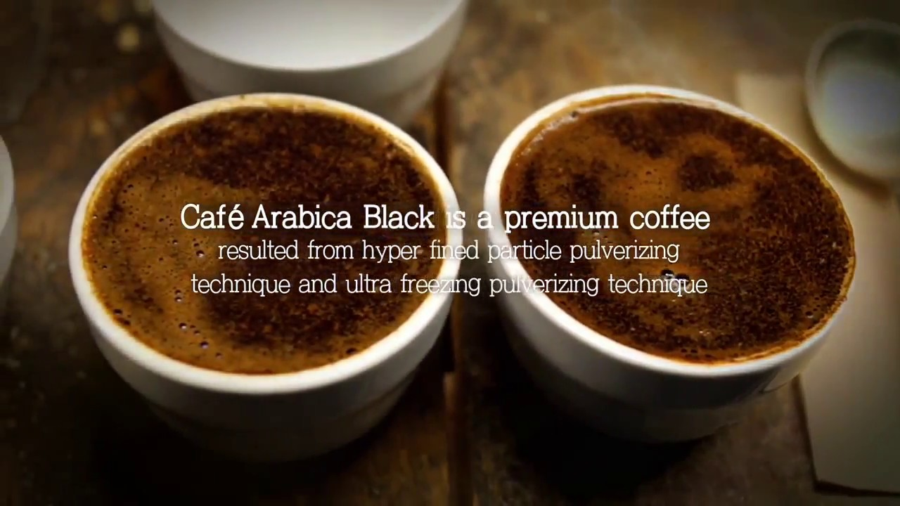 Coffee Arabica Health Benefits Atomy Arabica Black Coffee