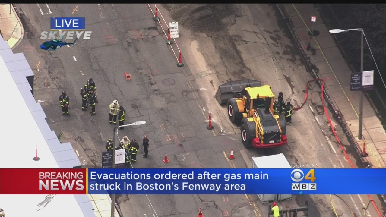 Buildings Evacuated, Traffic Delayed After Gas Leak In Fenway Area