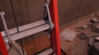 Ladder Lock Extension Safety : Home Safety & Preparation