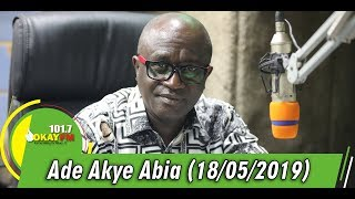 Ade Akye Abia With Kwame Nkrumah Tikese (18/05/2019)