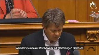 Jürg Grossen zum Fernmeldegesetz und der Lex-Swisscom, 5. März 2019