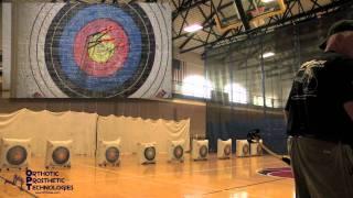 Endeavor Games 2011 Indoor Archery Gold Medalist Larry Hovey of Team OPT