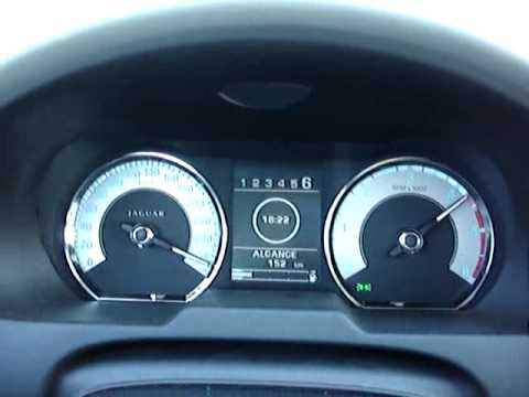 Jaguar XF 2.7D Top Speed 270km/h - YouTube