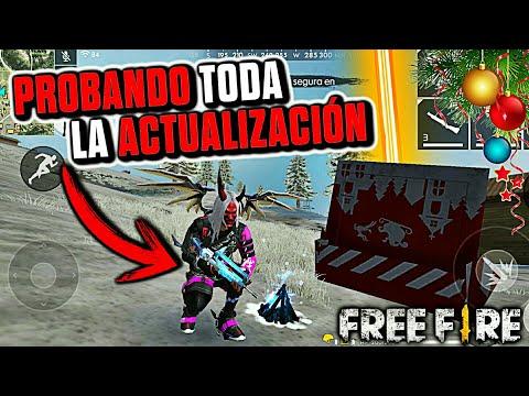 REVIEW DE TODA LA ACTUALIZACIÓN COMPLETA DE NAVIDAD - MRSTIVENTC - •FREE FIRE•