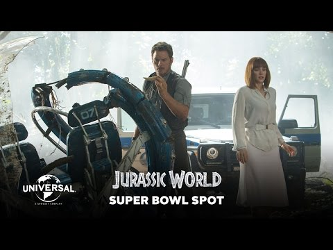 Jurassic World - Official Super Bowl Spot (HD)