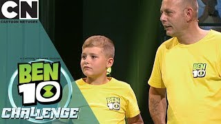 Ben 10 Challenge | The Overflow Mini Game | Cartoon Network