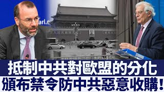 歐議會第一大黨主席籲頒禁令 防中共惡意收購|新唐人亞太電視|20200518