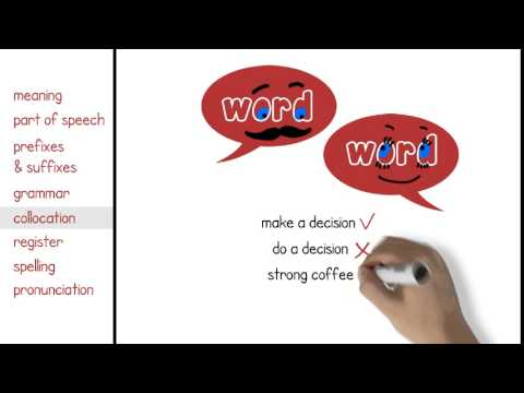 Learn English - Vocabulary general