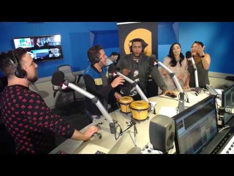 Entrevista a Don Omar y Sharlene Taule en La Gozadera por Mix 98.3 FM con Los Pichy Boys