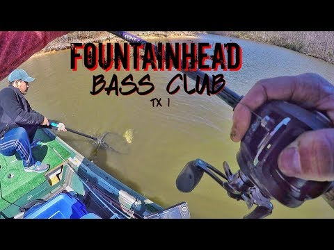 Fountainhead Bass Club Tournament 1: The GRIND!