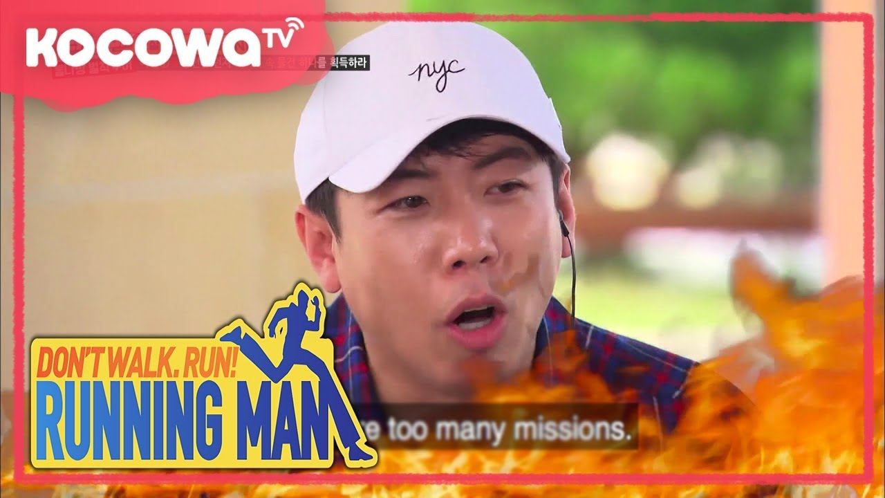 [Running Man] Ep.370_Gwang-su brought everything to his penalty trip!