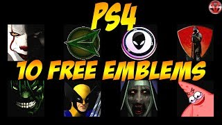 PS4 FREE DOWNLOAD EMBLEMS by Vileself