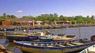 Cementerio de barcos Puerto El Triunfo Usulutan El Salvador C A  Parte I