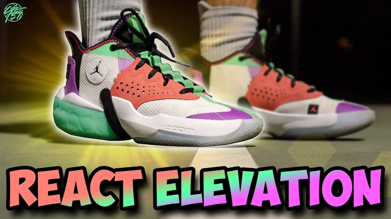 Jordan React Elevation Performance Review!