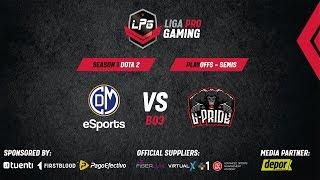 Liga Pro Gaming Semifinales | Deportivo Municipal vs is GPride, BO3 | Cast por Ndree & Iwo