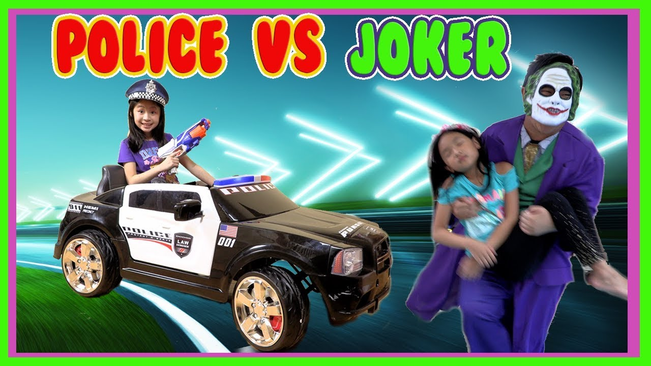 Pretend Play POLICE with Ryan's Toy Review inspired- I MAILED MYSELF to Ryan ToysReview and it