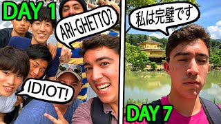 I Learned How To Speak Japanese In 7 Days..