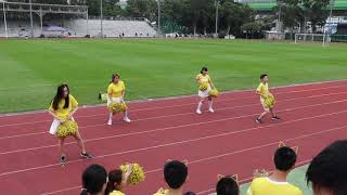 KCCIS Sports Day 2019 - Yellow House Cheerleading