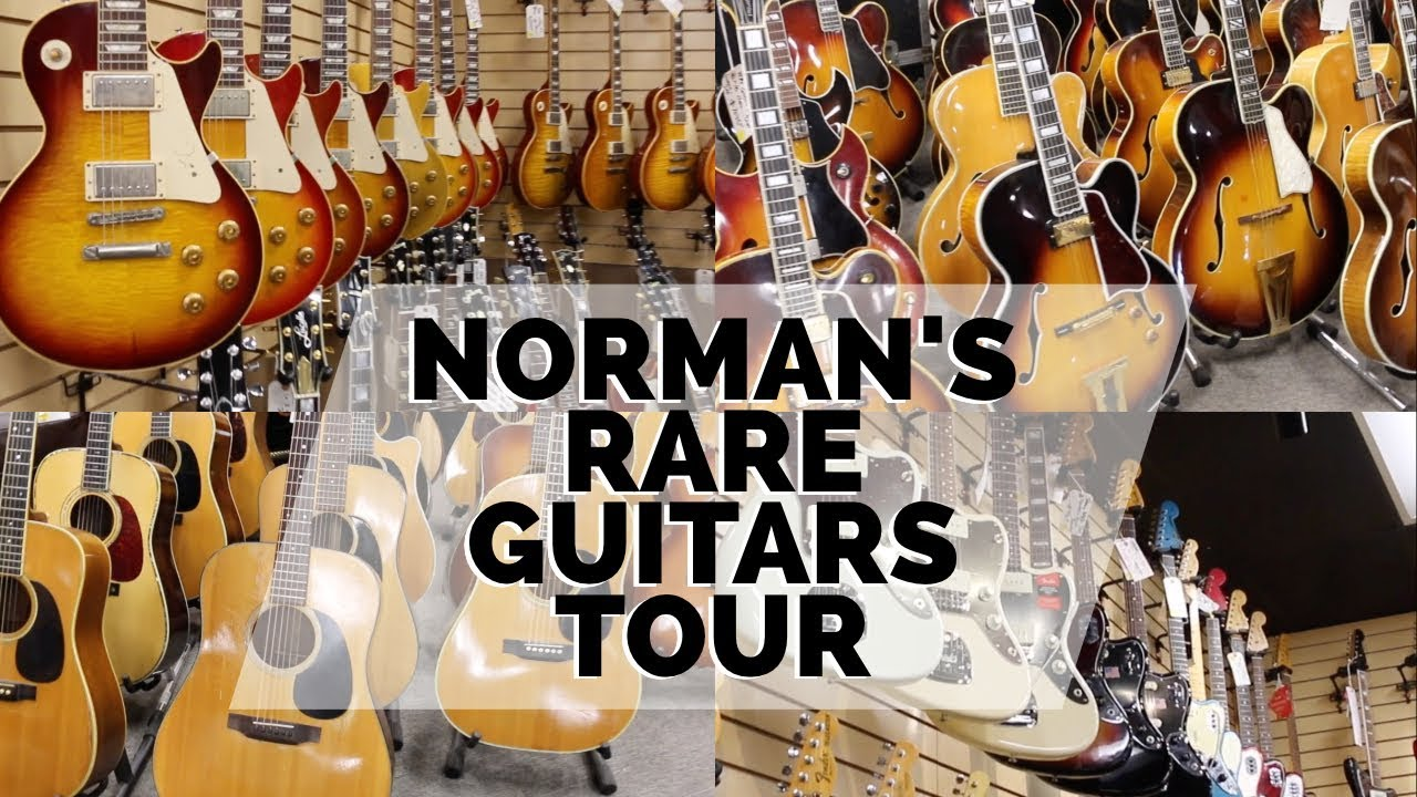 norm gives a tour for black friday at norman 39 s rare guitars youtube. Black Bedroom Furniture Sets. Home Design Ideas