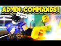 NEW ADMIN COMMANDS UPDATE! (ROBLOX Mad City)