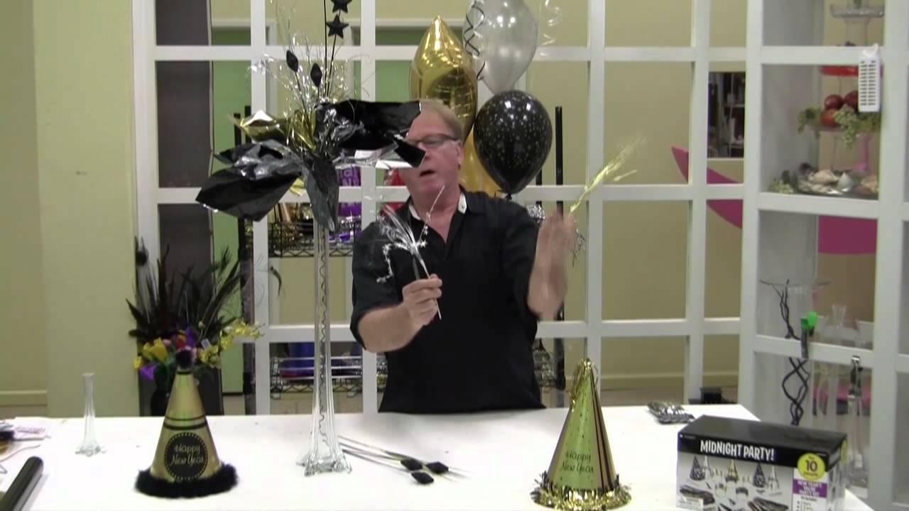 New Years Eve Decorating Ideas From The Party Concierge Youtube