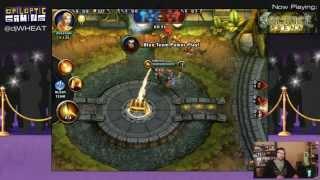 Solstice Arena (MOBA) - Gameplay