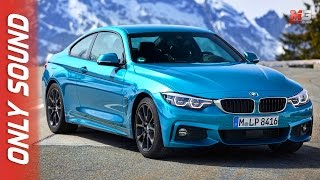 New BMW 440I coupe & cabrio 2017 - first test drive only sound