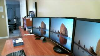 A very easy way to set up a dual monitor
