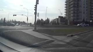 Edmonton Red Light Runner Car Accident 66 St-28 Ave