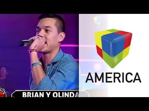 Siguen los éxitos: Brian volvió a presentarse en Pasión con Olinda