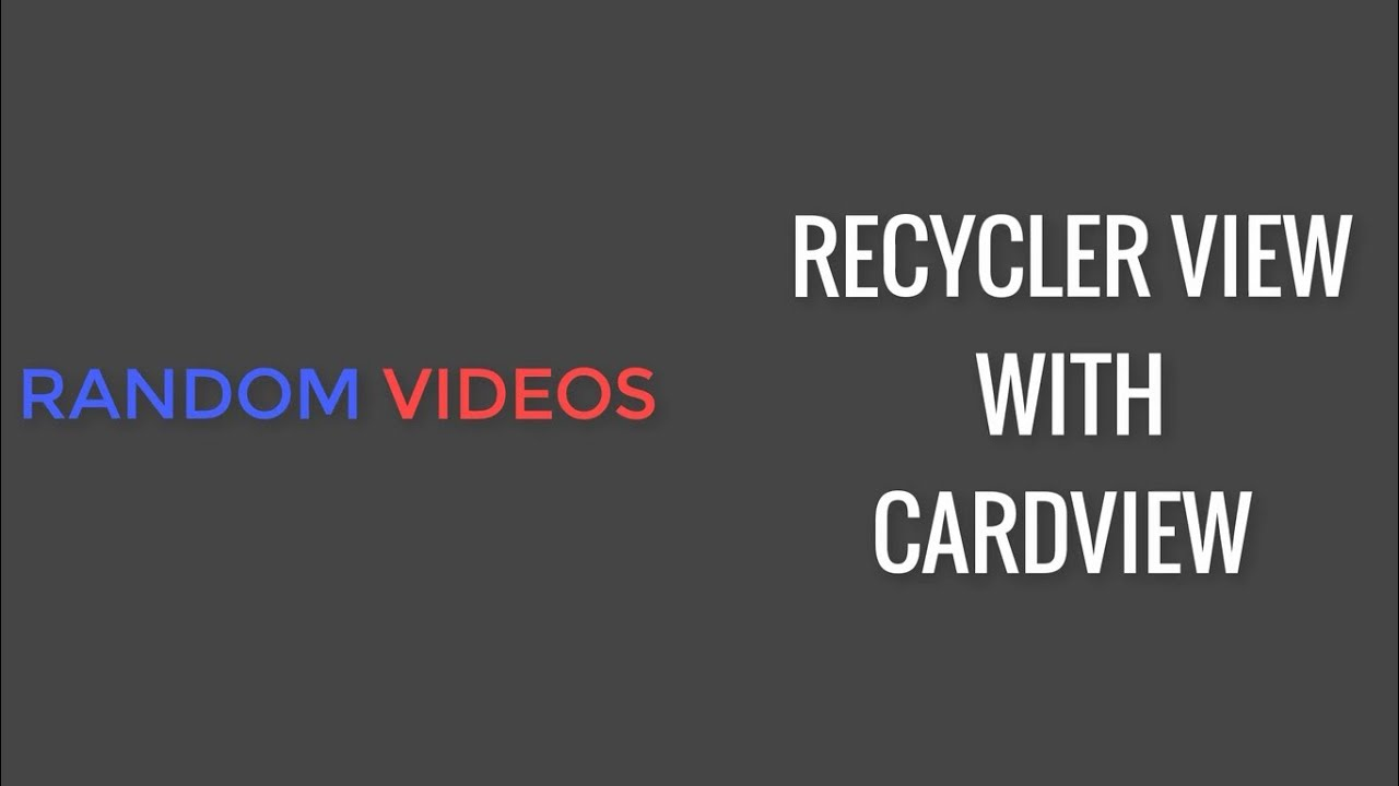 How to use RecyclerView with CardView using Fragment