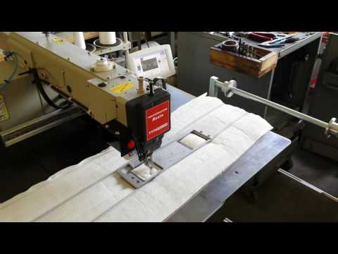 Unità semi automatica H332 MN per etichette e maniglie sulla fascia