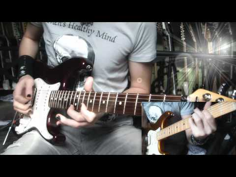 Can I play with madness guitar cover - Iron Maiden (HD)