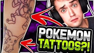 Subtle Pokemon Tattoos